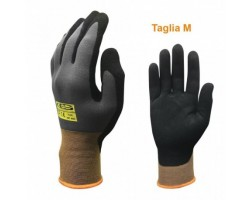 Gloves Nibersoft With Partial Coating Size 7 / M