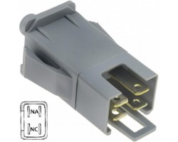 Switch AYP-MTD Security, Quadrapolar Dual Function. Contact Normally Open and Normally Closed