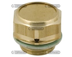 """Oil Filling Plug And Brather With Filter Thread F 1/4"""" Gas"""