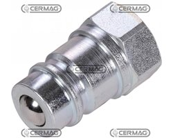 """Quick Male Coupling Ball Type - Iso Interchangeable Series Ns Coupling 1/2"""" Gas"""