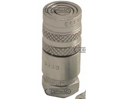 """Quick Female Coupling With Flat Face Type Series Ffh Coupling 1/2"""" Gas Diameter 3/8"""" - 30 Mm"""