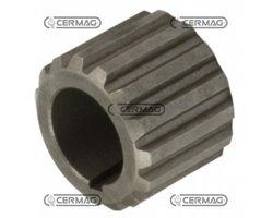 Splined Coupling Joint Pumps Profile 25X22 Mm Number Of Teeth 14 Feather Key 4 Mm