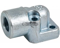 """4 Holes Flanges Types Bosch Center Distance Of Holes 30 Mm Tube Coupling 3/8"""" Gas"""