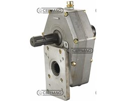 "Overdrive For Pumps Group 2 And 3 With P.T.O. For Drive Shaft Coupling Male - Female 1""3/8"