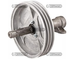 """1-3/8"""" Spline Shaft With Pulley"""