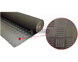 Rubber Mat Length 10 M Surface Grilled Profile