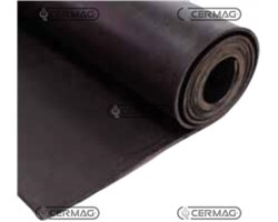 Smooth Oil-Proof Rubber Mat Length 10 M Thickness 3 Mm