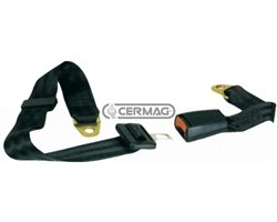 Seat Belts With Fixed 2-Point Connection