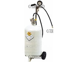24 L Trolley-Mounted Tyre Inflater Tank 24 L
