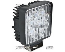 Work Light With 9 Leds 1500 Lumen