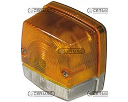 Front Light With 2 Bulbs For Fiat 66.90 Narrow Range And Various Models - Goldoni