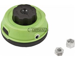 Semi-Professional Tap'N Go Head With Universal Coupling