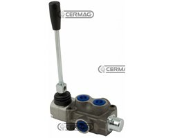 "1 Lever Monoblock Valves 3/8"" Item Md - Simple Effect Lh Maximum Operating Pressure 180 Bar Flow Rate 40 L/Min"
