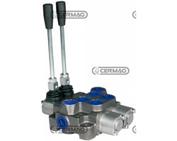 "2 Lever Monoblock Valves 3/8"" Item Md"