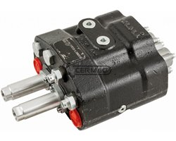 Two Levers Double Effect Distributor With Load Sensing Circuit