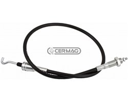 Clamp Type Individual Control Lever Cables - 2000 Mm