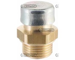 """Brass Breather Plug With Filter Thread F 1/4"""" Gas"""