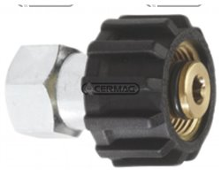 """Connections For High Pressure Washer Entrance Female 3/8"""" Gas Coupling Female M22X1,5 Mm"""