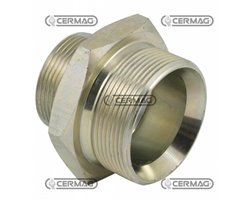 "Male-Male Adaptors Thread 1/4"" Gas - 1/2"" Gas"
