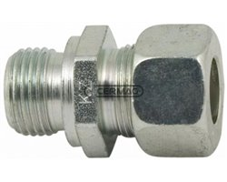 62° Gas Flared Couplings With Straight Ends