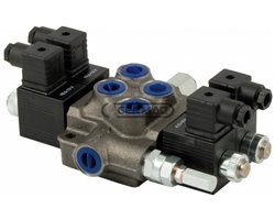 2 Lever Electric Modular Valves 3/8; On-Off Type