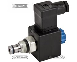 Vei Electrically Operated Dump Valve - 12 Vs - 40 L/Min