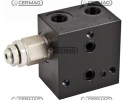 Entry Cap With Pressure Limiting Valve (Excluding Vei) - 80÷350 Bar