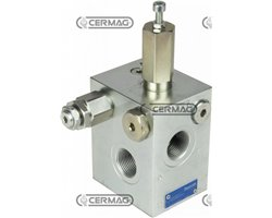 """Energy-Saving Entry Caps For Sensitive Line For Fixed Gear Pumps - 40÷280 Bar - 120 L - 3/4"""""""
