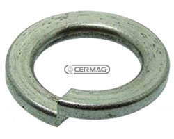 Spring-Loaded Spiral Washers (Grower) D M10
