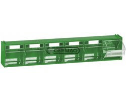 Cases For Display Stand 6 Drawers L 600 - P 96 - H 112 Mm
