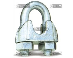 Wire Rope Clips Size 3 Mm Ø Rope 3 ÷ 4 Mm