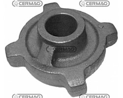 Chain Stretching Pinion In Cast Iron Pitch 100
