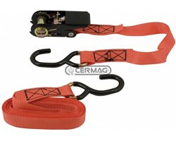"""""""Hobby"""" Type Anchoring Belt With Double-Tip Hook And Tensioner"""