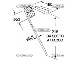 Standard Front Tine For Seed Drill - Various Manufacturers
