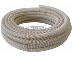Air-Seed Hose For Seed Drills In Transparent Polyurethane