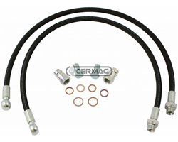 Hoses Kit For Hydraulic Top Links, Complete With Couplings