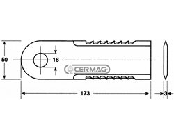 Mower Blades For Forage Cutting And Brushcutters