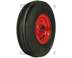 Leading Tyred Wheels With Bearings