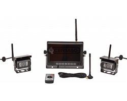 Wireless Camera Kit 12-24 Volt With Two Cameras