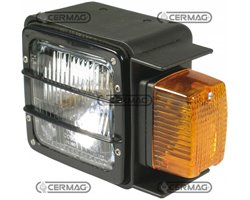 Asym. Headlamp With Side Lamp