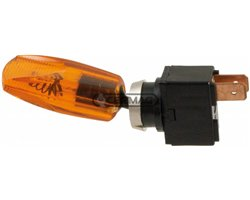 On-Off Lever Switch Yellow Light