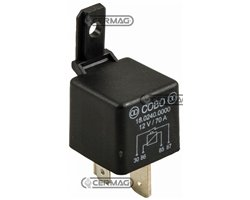 Relay On-Off 12V-70A With 9Mm Ends And Fixing Bracket Voltage 12 V Current Intensity 70 A