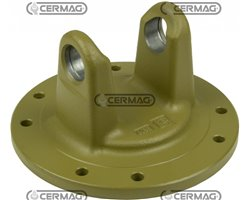 Flange Type Car. 6 - For Clutch Assemblies With 2 Plates Diameter 180 And 200 By-Py/Eurocardan