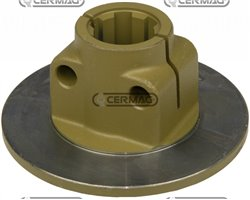 """Hub With Flange 1"""" 3/4 - Z6 - For Clutch Assemblies With 4 Plates Diameter 180 And 200 By-Py/Eurocardan"""
