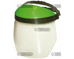Visor In Non Reflecting Polycarbonate With Protective Top