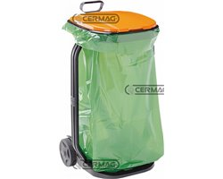 Sack Trolley For Grass And Leaves