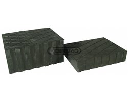 Rubber Plugs For Power Lifts And Jacks Dimensions 160X120X35 Mm