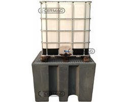 """Polyethylene Tank For 1 """"Ibc"""" Container 1000 Lt."""