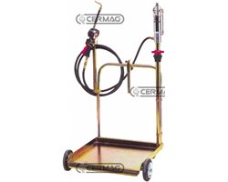 Air-Operated Pump For Oil With Trolley