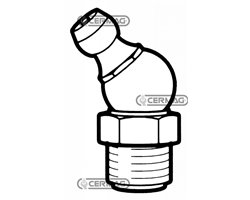 Lubricator With Spout At 45°